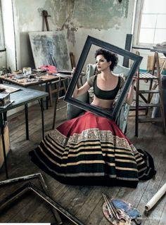 The Brilliant Stylist, Costume Designer, Couturier, Fashion Designer... @ManishMalhotra1 http://www.manishmalhotra.in/landing/ Framed!