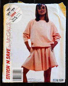 Vintage Stitch 'N Save 3804 Misses Top and by VintagePatternsPlus, $5.00