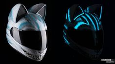 Cat Helmets With Ears From Russian Company Nitrinos Motostudio