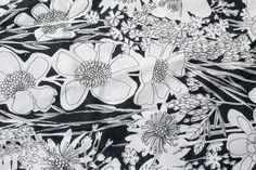 vintage Vera Neumann  linen tablecloth  oval with by shopatmoxie