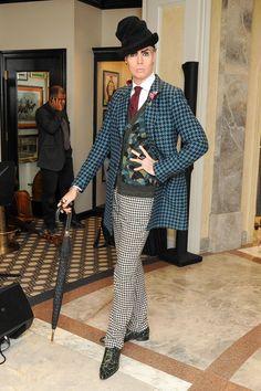 The ultimate dandy, haberdasher Patrick McDonald. #IamDandy