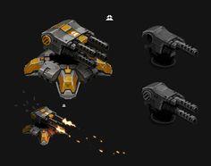 MachineGun Turret by SC4V3NG3R on DeviantArt