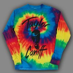 Taylor Face Tie Dye : TCNF : Taylor Caniff