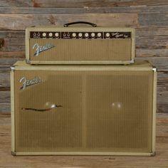 "Fender Bandmaster Blonde w/Matching 2x12"" Cab 1963"