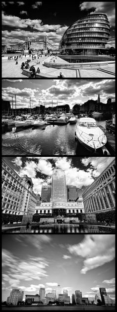 Some photos from the weekend - City Hall, St Katherine's Dock and Canary Wharf