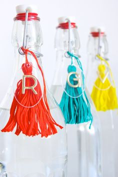 DIY Acrylic Spirit Bottle Tags