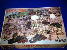 Vintage Louis Marx Co Iwo Jima Playset 4147   eBay