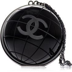 Chanel Black  Clutch Bag