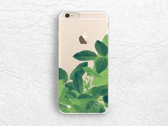 Tropical Leaves transparent Clear phone case for iPhone 12 Pro, Google Pixel 3a XL, Pixel 4a, LG G8, Nexus 5X, Samsung S20 FE, Note 20