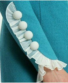 20 Creative and Latest Sleeve Designs For Kurtis From cold shoulders, off shoulders and sleeveless to frills and bell sleeves, there are endless options to what sleeve designs for Kurtis you pick. Kurti Sleeves Design, Sleeves Designs For Dresses, Kurta Neck Design, Blouse Neck Designs, Sleeve Designs For Kurtis, Neck Design For Kurtis, Chudidhar Neck Designs, Stylish Blouse Design, Fancy Blouse Designs