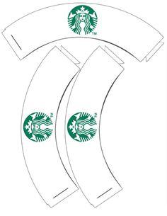 Starbucks Coffee Bag Template