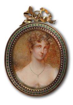 A Private Portrait Miniature Collection: October 2009