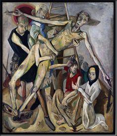 """""""Ristilt võtmine"""", Max Beckmann (1917)"""