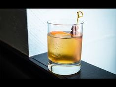 How to Cocktail: The Inside Job #howto #cocktail #recipe #whiskey #bourbon