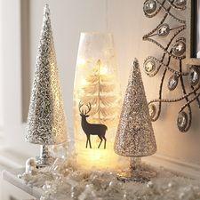 Snowy Deer Twinkle Light