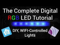 Today, I'm bringing you a video of one of my favorite things - digital LED strips! These LED strips are everywhere these days, but getting started wit.
