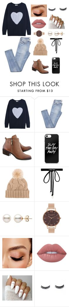 """""""Stroll in the park"""" by queenshaima ❤ liked on Polyvore featuring Chinti and Parker, Loro Piana, Joomi Lim, Olivia Burton, Avon and Lime Crime"""