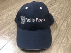 Rolls-Royce Boeing Dreamliner Cap Hat One Size Used  fashion  clothing   shoes 4962a17a7709