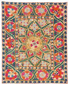 Susan Meller/ silk amd cotton