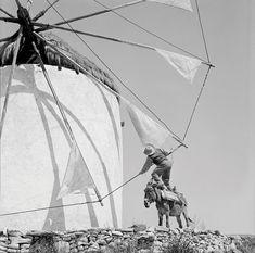 Αν και το θέμα του (τα ελληνικά νησιά του '50) έχουν φωτογραφικά εξαντληθεί, αυτός ξεχωρίζει για το λοξό του βλέμμα, το χιούμορ και την ευεργετική του αφέλεια. Φωτο: Ζαχαρίας Στέλλας, Φωτογραφικό Αρχείο Μουσείου Μπενάκη Photography Articles, Greece History, Sailing Ships, Paros, Greece Travel, Boat, Old Photos, The Past, Greek