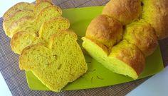 pan de azafrán