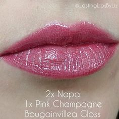 Napa and Pink Champagne LipSense are a gorgeous combo! - - Napa and Pink Champagne LipSense are a gorgeous combo! Napa and Pink Champagne LipSense are a gorgeous combo! Lipsense Pinks, Lipsense Lip Colors, Pink Champange Lipsense, Lip Sense, Skin Makeup, Beauty Makeup, Beauty Secrets, Beauty Hacks, Long Lasting Lip Color