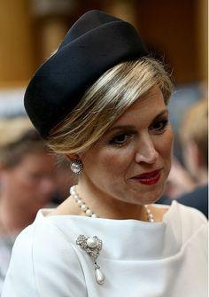 Queen Máxima, June 1, 2015 in Fabienne Delvigne | Royal Hats