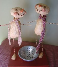 paper mache - I want what they're on... Happy Happy Happy... Oops wrong show...