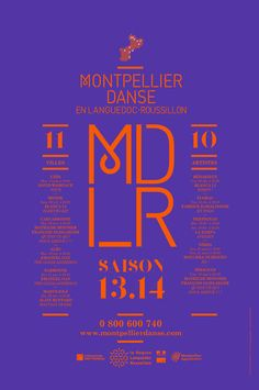 Mdlr poster by Les produits de l'xc3xa9picerie in Music festival