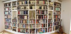 Bookcases wide angle | Flickr - Photo Sharing!