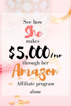 "This hard working mom earns $5,000 a month from her Amazon affiliate programs. ""Cracking the Code on the Amazon Associate Program"" eBook written by Ashli Sweat is what you need if you want to crank up your Amazon affiliate game. It helped me tremendously. #affilink"