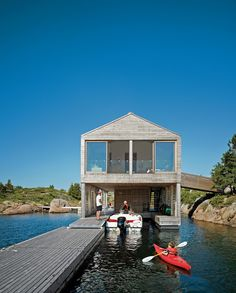 Comfortable Floating House by Michael Meredith