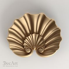 3D model of the carved shell for visualization and production on CNC machines.