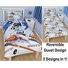 /** Priceshoppers.fr **/ Housse de couette simple imprimé caractère Disney - Parure de lit enfants