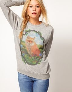 and a fox sweatshirt too! UK.