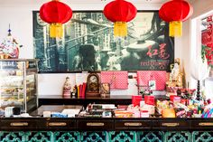 Our lovely little Bangalow store bursting with delights Dim Sum, Byron Bay, Asian Recipes, Red, Store, Home Decor, Decoration Home, Room Decor, Larger