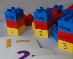 Kaila's Place | How to teach numbers with lego