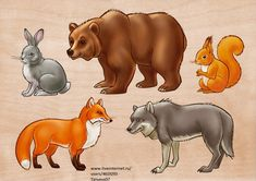 ДИКИЕ ЖИВОТНЫЕ (700x494, 117Kb) Forest Animals, Baby Prints, Kids Education, Nursery Art, Animal Drawings, Easy Drawings, Preschool Activities, Kids And Parenting, Mammals