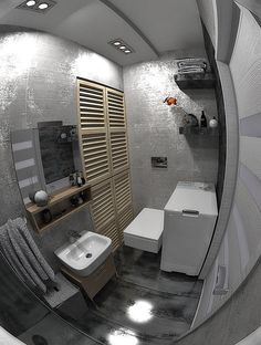 Little bathroom for my friends by XYZdesignErykP from blenderartists.org