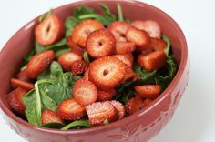 Cook the Book: Spinach Salad with Strawberries and Nectarines