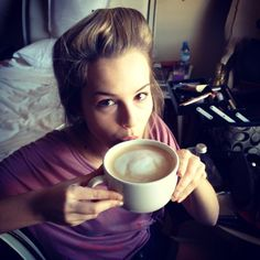 Bridgit Mendler Drinking A Big Cup Of Coffee January 2013 Bridgit Mendler, Big Cup Of Coffee, Coffee Cups, Best Friends Brother, Nickelodeon Girls, Coffee Today, Disney Stars, Hollywood Actresses, American Actress