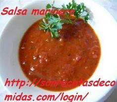 Salsa marinera – Recetas de Cocinas