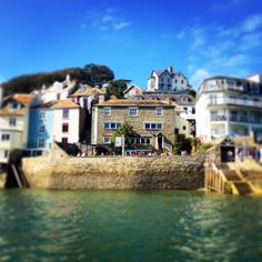 The Ferry Inn in #Salcombe which has to be the best located pub in the world!