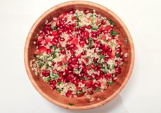 Bulgursalad with pomegranate