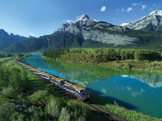 Saga's Chris Parker explains why a train journey on the Rocky Mountaineer through Canada's famous mountain range is an unmissable travel experience… Canadian Pacific Railway, Canadian Rockies, Train Route, By Train, Train Trip, Adventure Holiday, Adventure Tours, Trains, Rocky Mountaineer Train