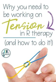 Having a hard time teaching R to your speech therapy students? Here's how I use the concept of tension to teach my students to create the R sound. Also, grab the FREE book you can use with your students to go through this exercise. Articulation Therapy, Articulation Activities, Speech Activities, Speech Pathology, Speech Therapy Activities, Speech Language Pathology, Speech And Language, Language Activities, Play Therapy Techniques
