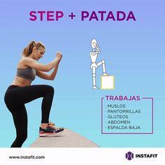 Step + Patada
