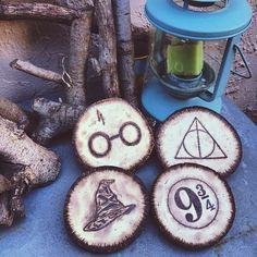 Hey, I found this really awesome Etsy listing at https://www.etsy.com/listing/232736240/wood-burned-harry-potter-coasters