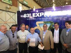 """Com o tema """"Entender para Atender"""", o presidente da ABCZ participou ontem da InterCorte 2017, que começou nesta quarta-feira (08/03), em Cuiabá/MT, e está com um número recorde de empresas participantes!"""