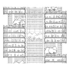 Norman foster commerzbank tower frankfurt germany 1991 97 plans and sections pinterest - Commerzbank london office ...